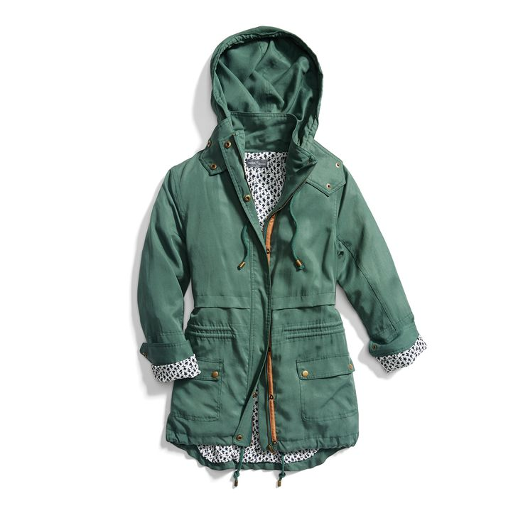 Cute - maybe in a different color? Stitch Fix Spring Outerwear: Green Anorak