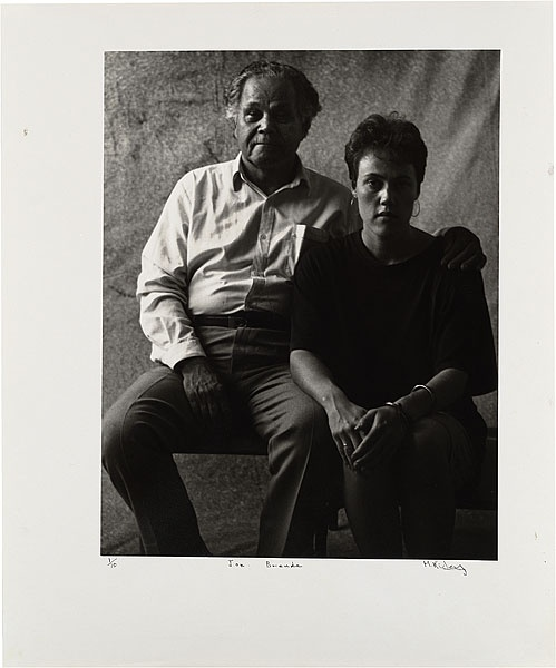 Michael RILEY Joe and Brenda, from Portraits by a window, 1990