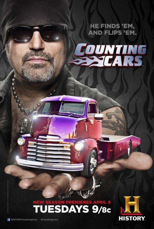 "Counting Cars (TV) ~ starring Danny ""The Count"" Koker.  He's a cool guy.  Would love to meet him."