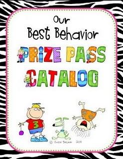 behavior rewards -- good (and FREE) alternative to a prize box