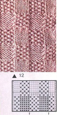 This pattern would be great for a child's sweater.