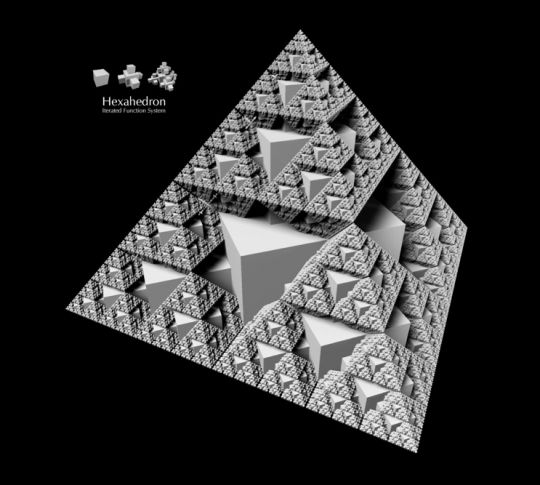 Fractal Solids or platonic solids