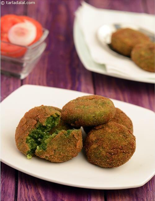 Hara Bhara Kebab ( Kebabs and Tikkis Recipes) recipe