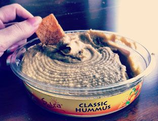 """""""Healthy dorm snacks!"""" The only reason I pin this is because it enables me and my roommates addiction to hummus. @Nicole Paul"""