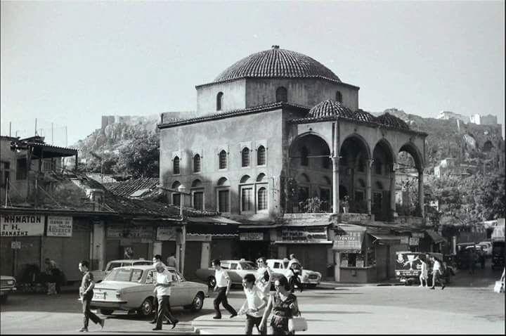 James Burke.Αθηνα 1959 τζαμι Τζισταρακι Μοναστηράκι