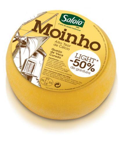 MoinHo de Luz -50% de grasa Portugués Producido a partir de una cuidadosa selección de la leche de vaca con el fin de producir una baja en grasas, molino de luz es ideal para comidas ligeras, pero sabroso