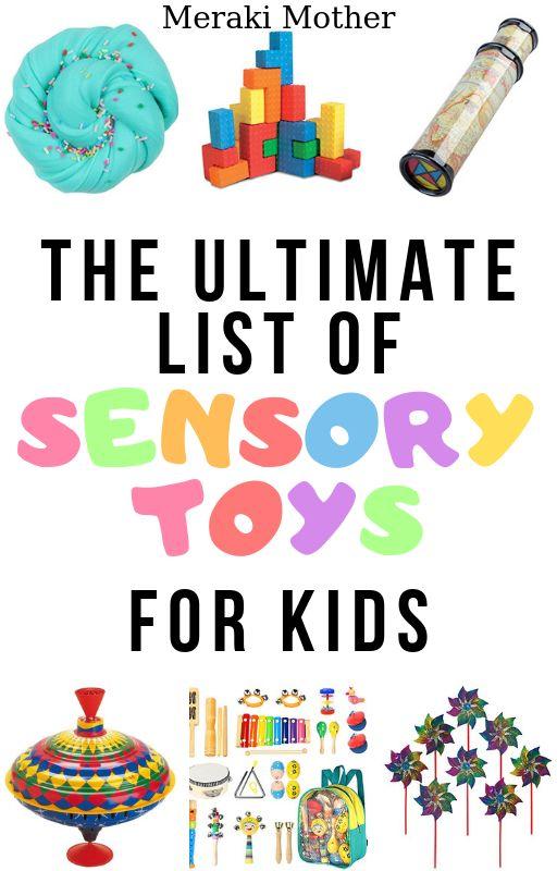 Toys for Sensory Play