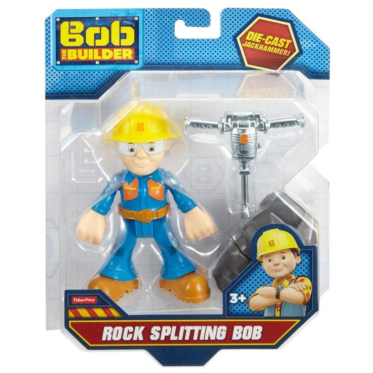 Bob de Bouwer Mini-Metal Actiefiguren Rock Splitting Bob  Bob de Bouwer Mini-Metal Actiefiguren â Rock Splitting Bob  EUR 22.95  Meer informatie