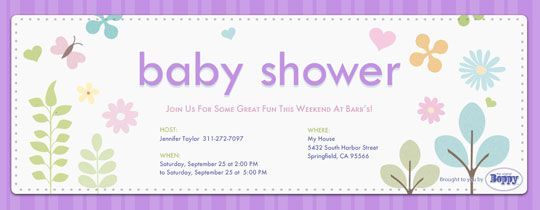Welcome Baby Into The World With A Sweet Baby Shower, Starting With A Free  Or Premium Digital Invitation From Evite.