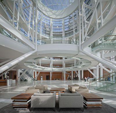 Interior Devon Building Oklahoma City