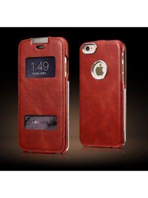 iPhone 6S Leder Schutz Hülle iCarer {EXb5fLep}