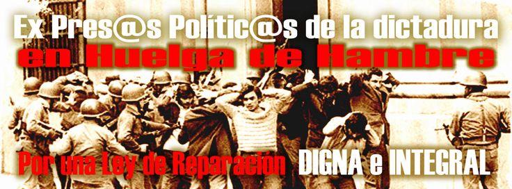 MESA ALTO NIVEL DEMANDAS DE REPARACIÓN EX PParmando romero Las demandas de los ex presos políticos en Chile, forma parte de una larga lucha de quienes dieron los mejores años de su vida, por recuperar la democracia. Parte de ese terrorismo de Estado...