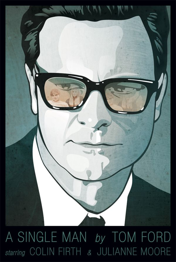 A new poster design for A Single Man.
