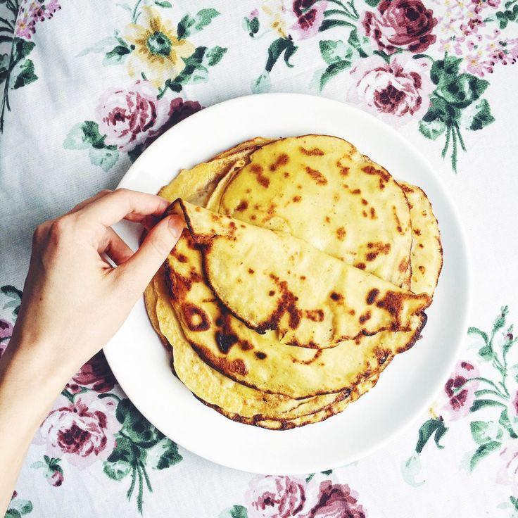 Блины мечты: 3 рецепта блинов без яиц, рафинированной муки и молока   рецепт блинов моей мамы