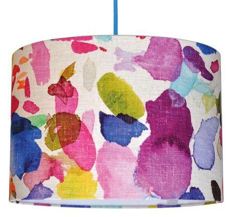 print & pattern blog - bluebellgray lampshade drum