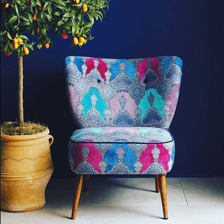 Inspired by Indian architecture, Haveli one of my new upholstery fabrics for @osborneandlittle