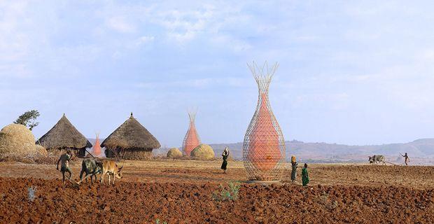 Warka Water (water storage for Ethiopian villages) - Arturo Vittori e Andreas Vogler