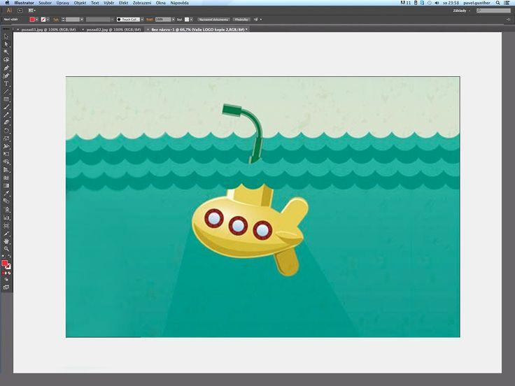 V tomto díle si za použití základních nástrojů Adobe Illustratoru předvedeme, jak vytvořit stylizovanou ponorku.