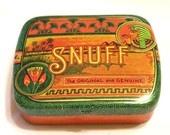 Vintage Miniature Snuff/Pill Box Tin Dodo Designs The Original and Genuine Near Mint