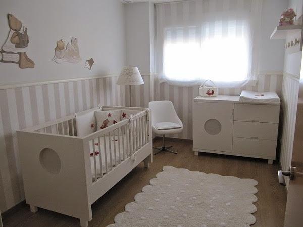 Queridos futuros papás: Necesitáis ideas para decorar las paredes de los…