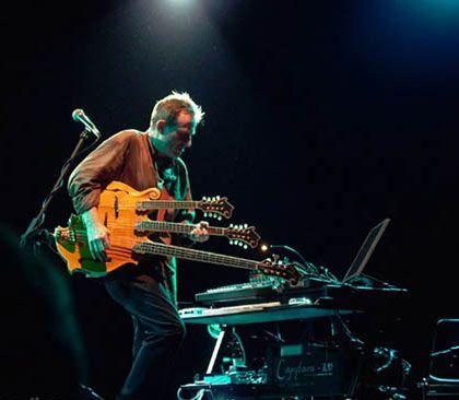 John Paul Jones' Mando-bass monstrosity