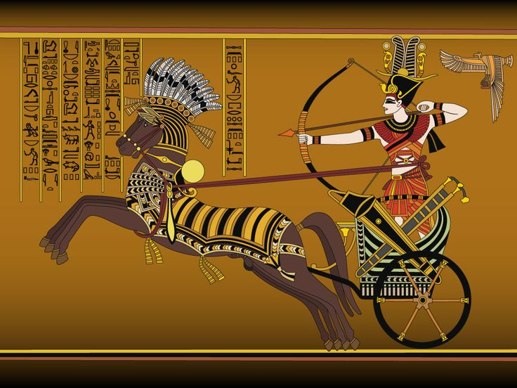 how to make an egyptian chariot