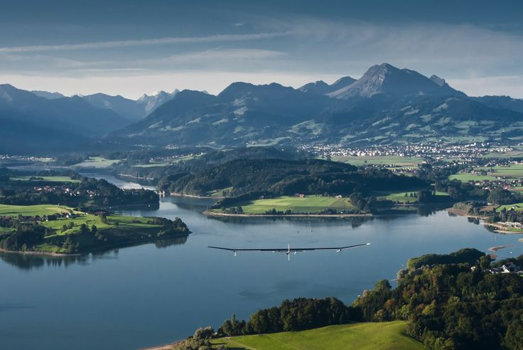Solar Impulse: An idea born in Switzerland © Solar Impulse  Revillard  Rezo.ch
