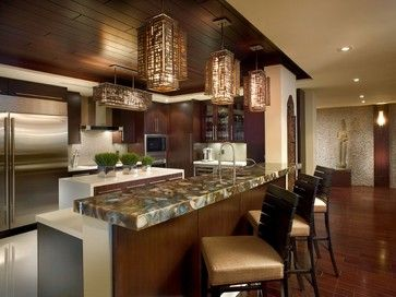 Brown Agate - asian - kitchen products - miami - Marble of the World