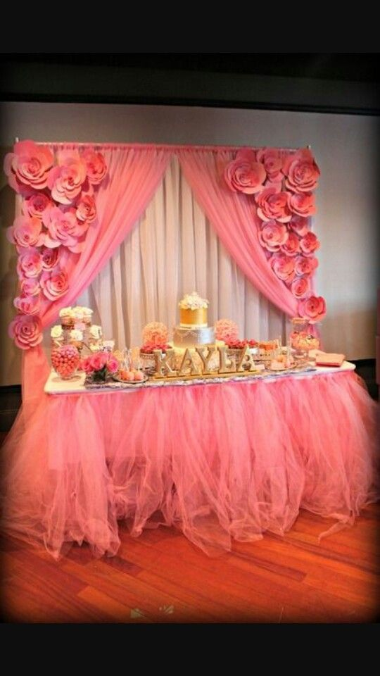 17 Best images about Glam baby shower on Pinterest | Mesas ...