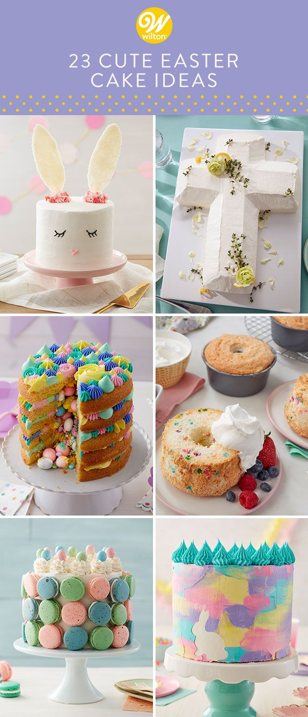 23 Easy Easter Cake Ideas Cute Easter Cake Recipes In 2020 With