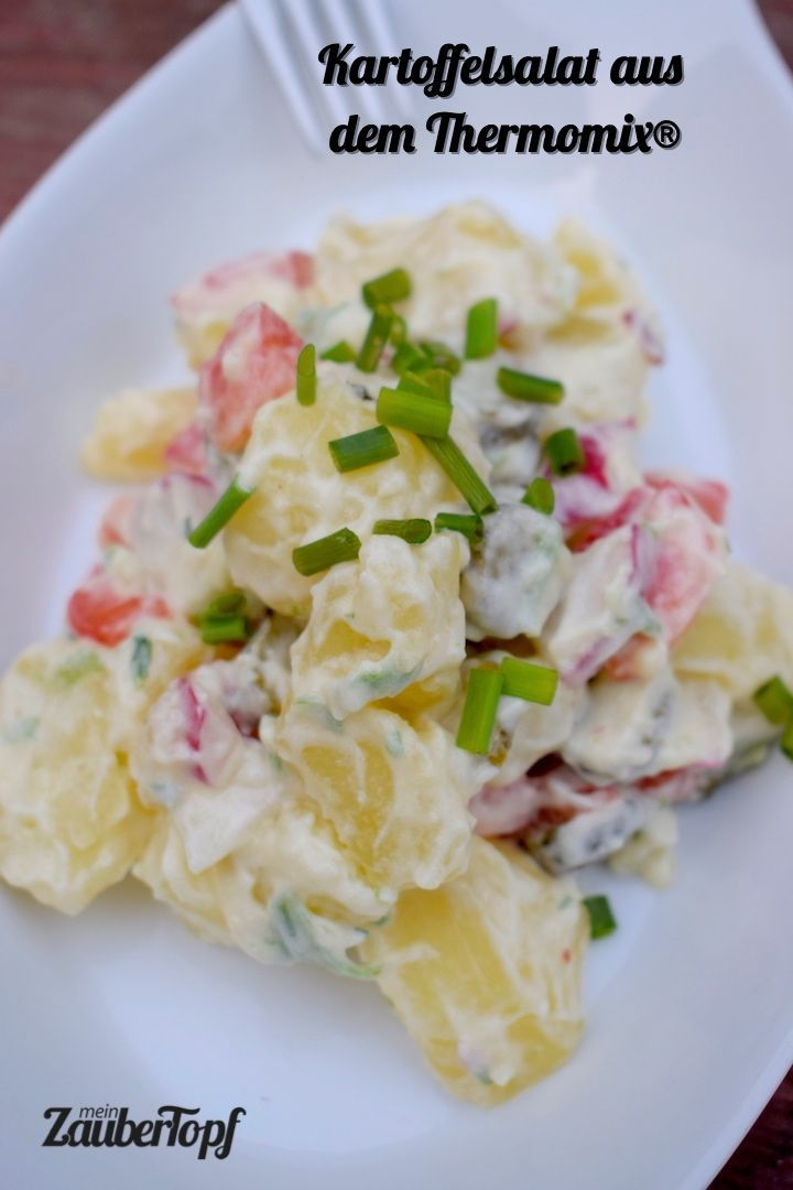 Bunter Kartoffelsalat aus dem Thermomix®