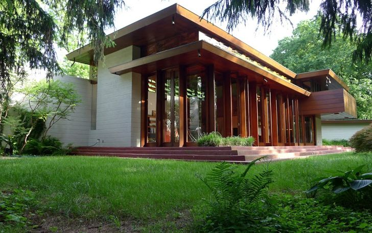 green design, eco design, sustainable design, Bachman Wilson House, Frank Lloyd Wright, millstone frank lloyd wright, cantilever balcony, Sharon Lawrence Tarantino, Fiesole, Paolo Bulletti