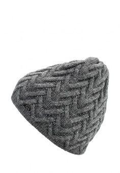 Шапка Ferz, цвет: серый. Артикул: FE913CWMER17. Женские аксессуары