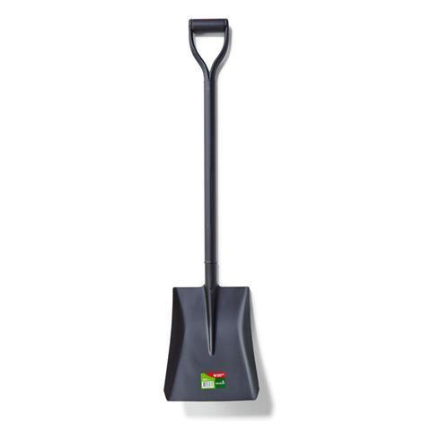Steel Shovel - Black, 100Cm