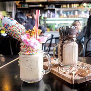 Is this real life??  XS Espresso - Wetherill Park, Sydney   17 Epic Australian Milkshakes To Add To Your Bucket List