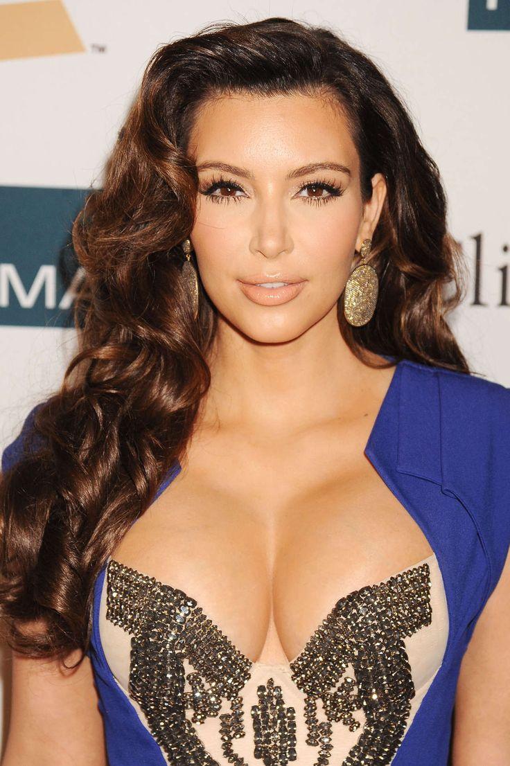 Kim Kardashian - Glossy 40's Inspired Pin-Up Curls | Hair ...