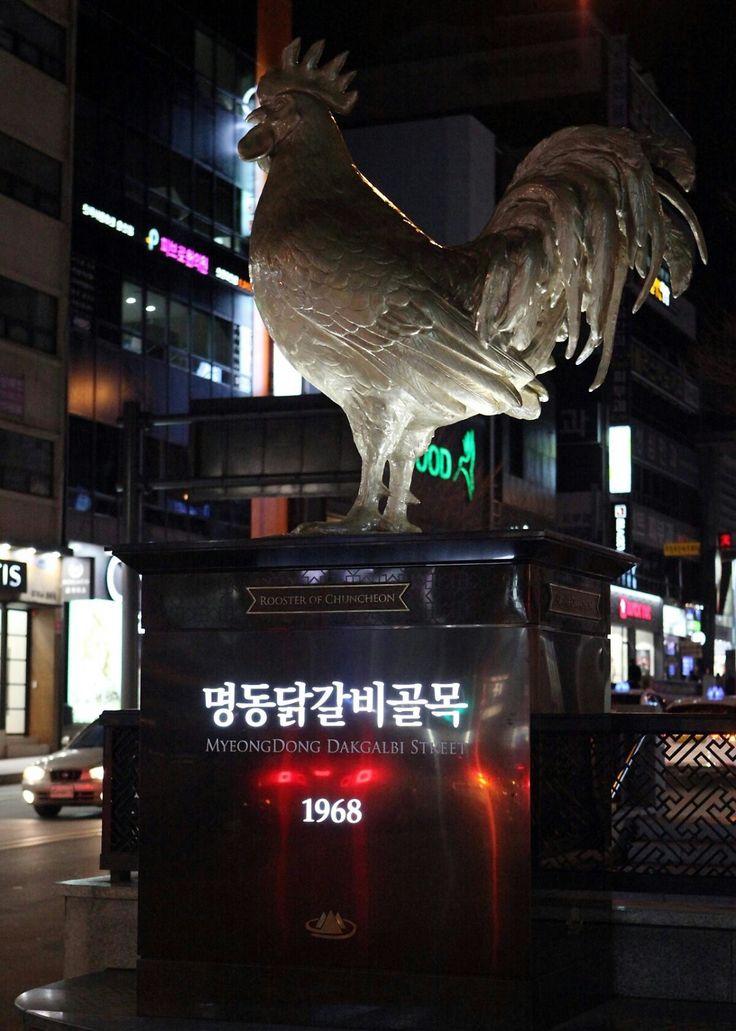 춘천 명동,닭갈비 골목 Chuncheon,Korea
