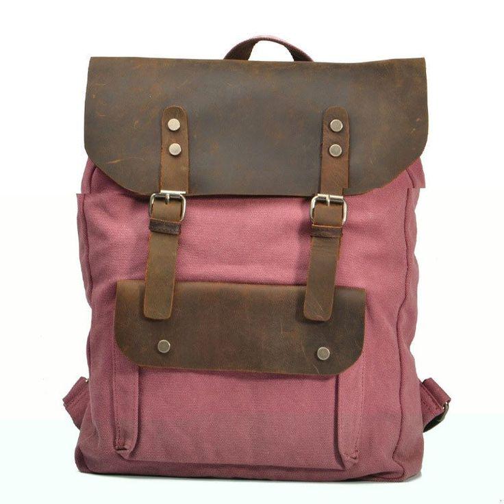 Retro Fashion Leisure Leather Travel Handbag - lilyby