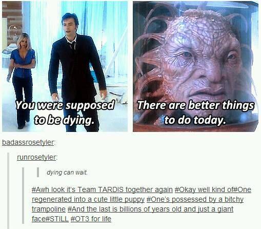 Team TARDIS together again...kind of