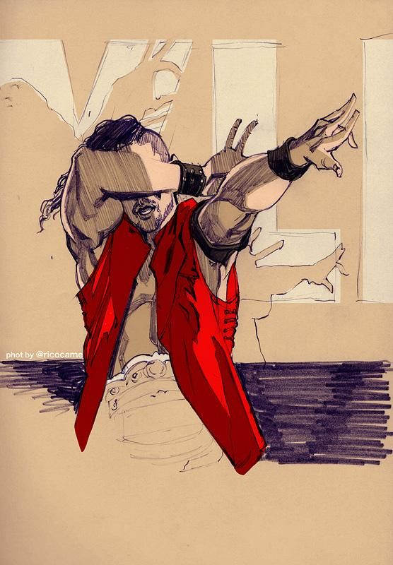 Shinsuke Nakamura (credit: Looks like Kyobashi San's work although I'm not completely sure...)
