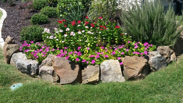 Landscaping And Lawn Care Services In Frisco Tx Prosper Tx Landscaping With Rocks Landscape Design Lawn Care