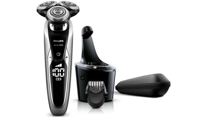 Gama de top a producătorului olandez, Philips Shaver Series 9000 conține cele mai bune aparate de ras electrice cu capete rotative de pe piață.