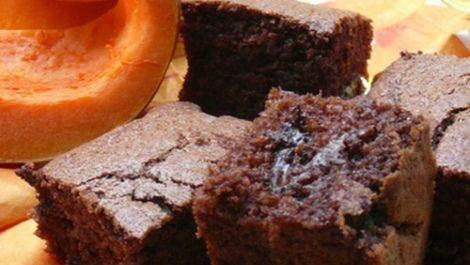 Sütőtökös-csokis szelet