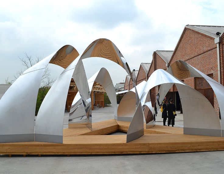"""ARCHITECTURE AS ART"" PIRELLI HANGARBICOCCA, MILAN Exhibition set-up by Tosetto"