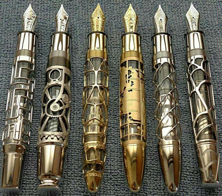 Beautiful fountain pens