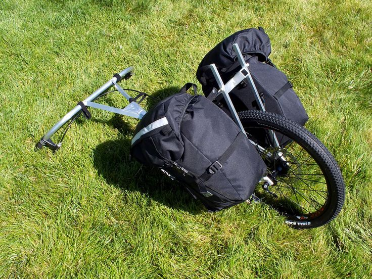 Pack Wheel - Panniers for use with the Pack Wheel hiking cart.
