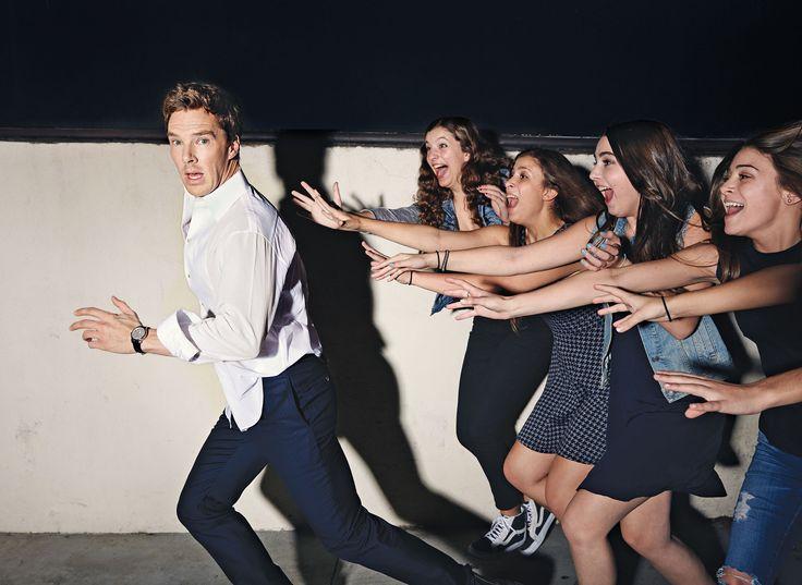 Benedict Cumberbatch, photographed by Art Streiber for New York magazine, Nov 17, 2014. I love this photo.