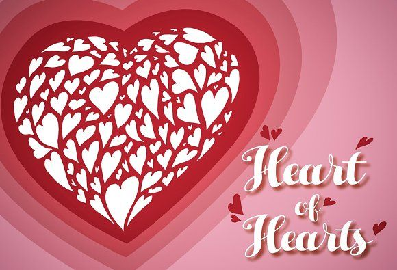 Heart of hearts vector [25% off] by Celta on @creativemarket