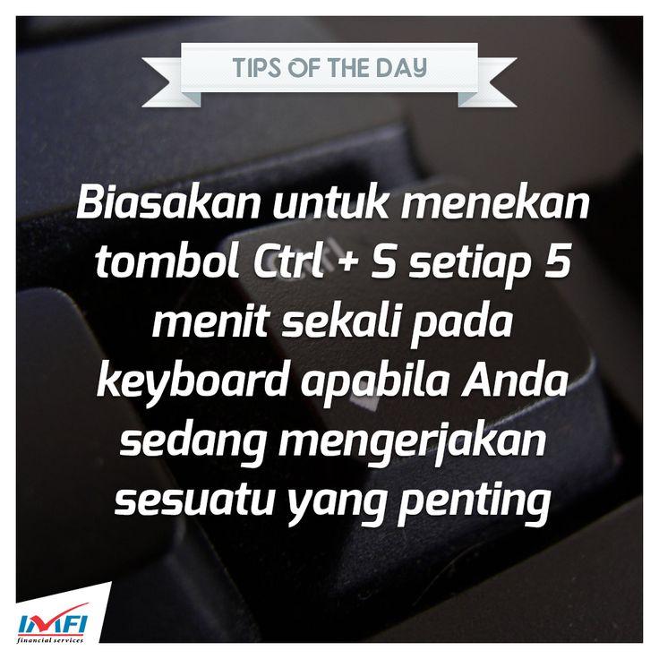 Sahabat IMFI,  Bagi Anda yang sering berkutat di komputer tidak ada salahnya melakukan tips berikut :)  #tips #kerja #komputer #indomobil #finance #indonesia