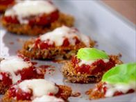 Get this all-star, easy-to-follow Mini Eggplant Parmesan recipe from Giada De Laurentiis